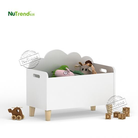 Wood Storage Rack Toy Box Kids furniture factory in china
