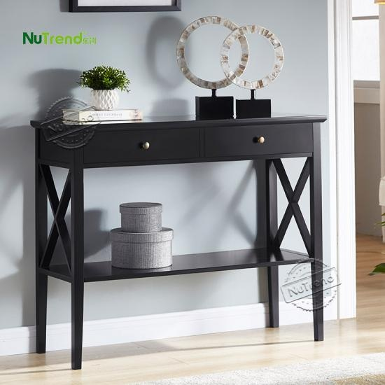 Modern Hallway Wood Console Table Factory China