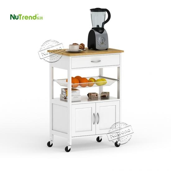 wholesale Small Micorwave Kitchen Island Cart Furniture Factory China